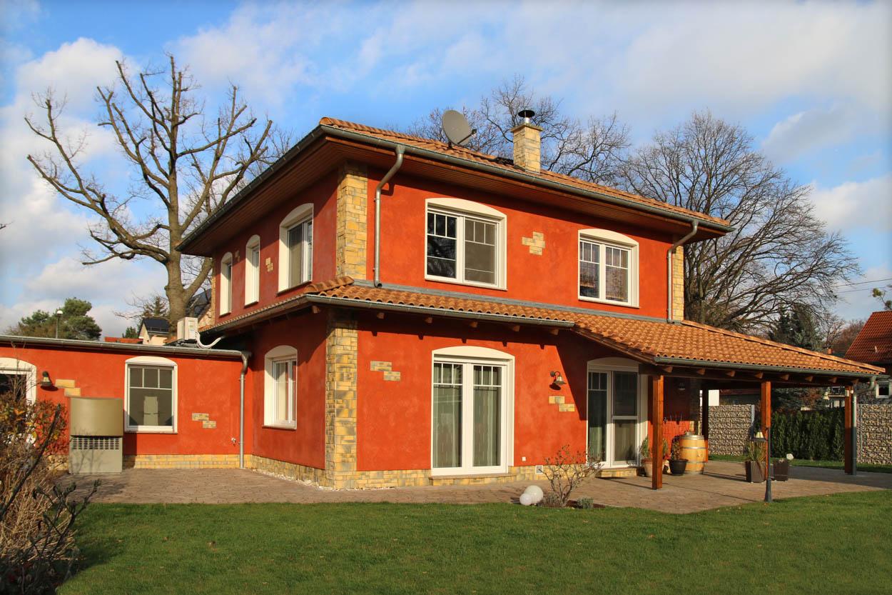 Falkenhaus bau stadtvilla mediterran for Einfamilienhaus falkensee